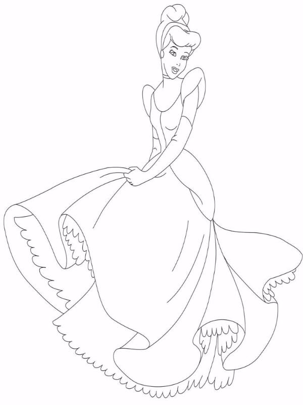 Трафарет Принцесса