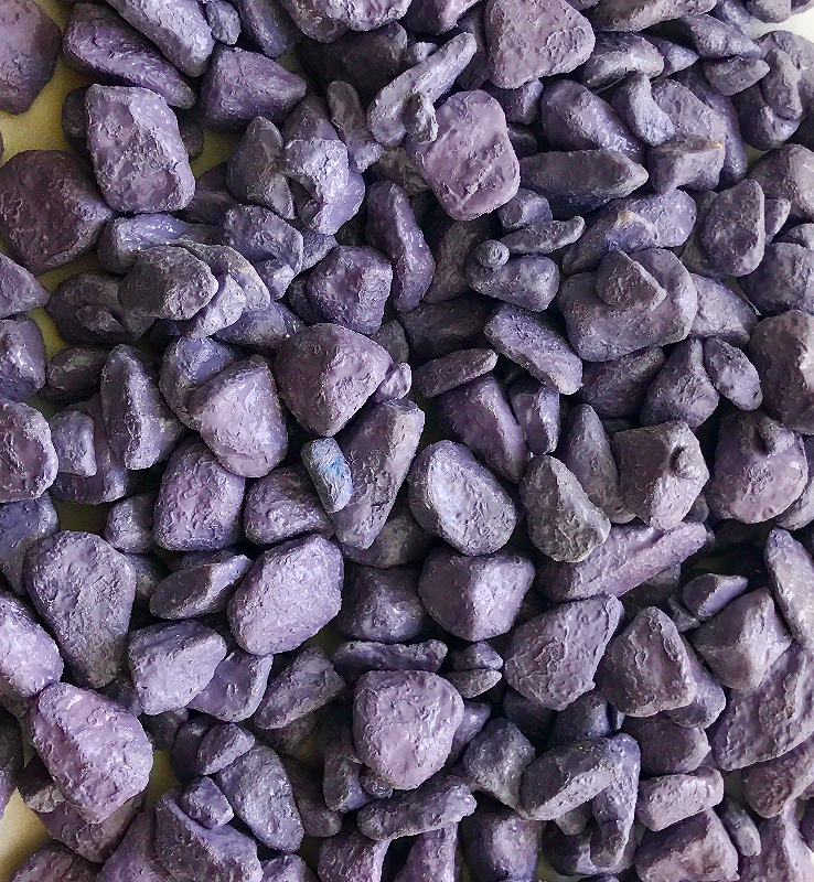 Фиолетовый щебень