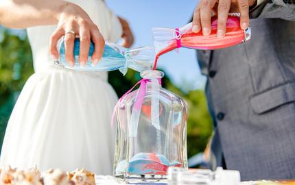 цветной песок для свадьбы, свадебный набор, гавайская церемония